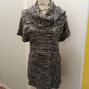 Jou Jou plus cowl neck sweater tunic/dress 3X